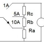 Ampere Meter Arus Searah (Ampere Meter DC)