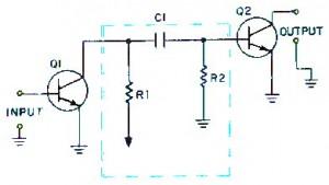 RC coupling,metode RC coupling,rangkaian coupling RC, penguat dengan coupling RC,teori coupling RC,definisi coupling RC,pengertian coupling RC,tanggapan frekuensi coupling RC,frekuensi respon RC coupling