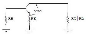 Rangkaian Ekuivalen AC Penguat CE,skema ekuivalen ac penguat transistor,rangkaian ekuivalen ac penguat,bentuk ekuivalen ac,analisa ac penguat common emitor