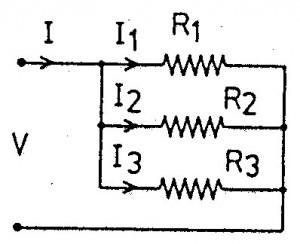 resistor paralel,rangkaian paralel resistor,rumus resistor paralel,arus resistor paralel,tegangan resistor paralel,rumus resistor paralel,teori resistor paralel,menghitung resistor paralel