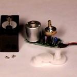 bagian motor servo,konstruksi motor servo,komponen motor servo,struktur motor servo,spare part motor servo