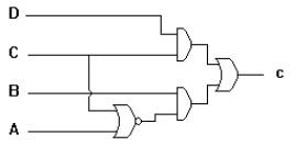 Dekoder BCD Ke 7 Segment Ruas C,dekoder ruas C,decoder 7 segment bagian C
