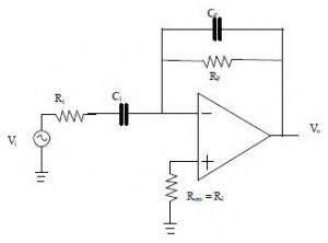 Rangkaian Aplikasi Differensiator Dengan Op-Amp,aplikasi differensiator,contoh aplikasi differensiator,rangkaian differensiator sinyal,differensiator tegangan,rumus aplikasi differensiator,tegangan differensiator