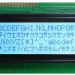 LCD (Liquid Crystal Display) Dot-Matrix HD44780