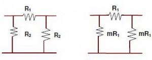 Rangkaian Attenuator Tipe pi,skema attenuator tipe pi,attenuator tipe pi,karakteristik attenuator tipe pi,desai attenuator tipe pi,membuat attenuator pi