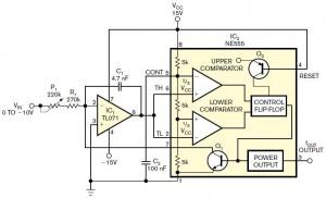 Rangkaian Converter Tegangan Ke Frekuensi Dengan IC 555,konverter tegangan ke frekuensi,converter tegangan ke frekuensi,converter tegangan ke frekuensi dengan IC 555,rangkaian converter tegangan ke frekuensi IC 555,skema converter tegangan ke frekuensi IC 555,konsep conversi tegangan ke frekuensi,prinsip kerja converter tegangan ke frekuensi,aplikasi IC 555 cebagai converter tegangan ke frekuensi,teknik konversi tegangan ke frekuensi denagn ic 555,membuat konverter tegangan ke frekuensi IC 555,merakit converter tegangan je frekuensi,prinsip kerja converter tegangan ke frekuensi