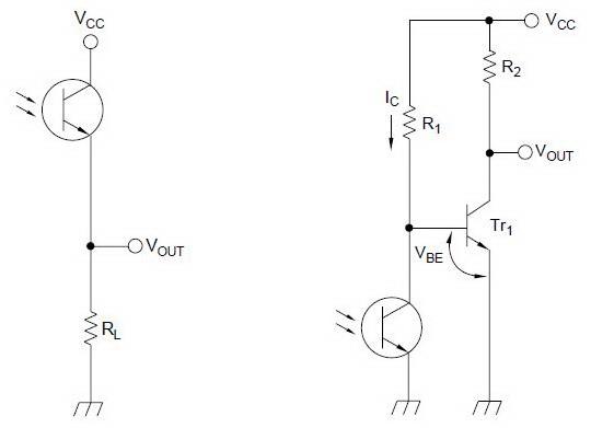 Rangkaian Dasar Photo Transistor
