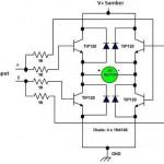 Driver Motor DC H-Bridge Transistor