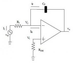 Rangkaian Integrator Aktif,rangkaian integrator op-amp,integrator dengan op-amp,membuat integrator aktif,teori integrator,definisi integrator aktif,bagian integrator,pengertian integrator,fungsi rangakian integrator,rumus rangkaian integrator,output rangkaian integrator,tegangan output integrator