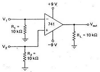 Detektor Beda Fasa Dengan Op-Amp