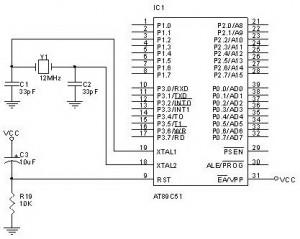 Rangkaian Sistem Minimum Microcontroller MCS51,rangkaian dasar microcontroller,skema dasar mikrokontroller,rangkaian mikrokontroler MCS51,rangkaian minimal mikrokontroler,skema minimum microcontroller,minimum sistem microcontroller,membuat sistem minimal microcontroller,merakit sendiri sistem minimum mikrokontroler,membuat sistem minimal microcontroller,rangkaian mikrokontroller,skema mikrokontroler,sistem minimum microcontroller MCS51,sitem minimum mikrokontroler 40 pin