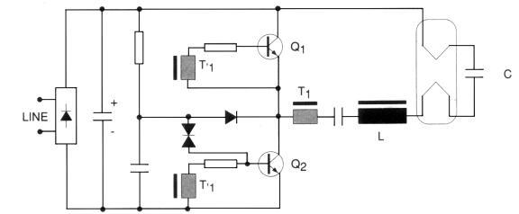 Tipe Ballast Elektronik