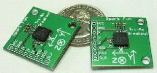 Sensor Accelerometer MMA7260Q