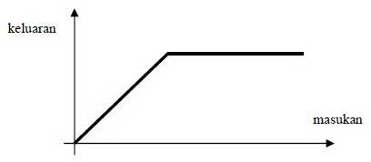 Grafik Saturasi (saturation) Transduser,nilai logaritmis transduser,nilai kudartis transduser,fungsi linier transduser,kelebihan transduser linier,kebutuhan transduser linier