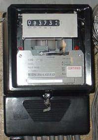 Contoh Meter Induksi Elektromekanik,Contoh KWH Meter Induksi,Contoh KWH Meter elektrodinamometer,bentuk KWH Meter