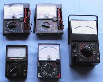 Multimeter Elektronik Analog