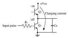 Gambar Rangkaian Totem Pole,konfigurasi totem pole saklar transistor,rangkaian totem pole saklar transistor,kecepatan totem pole saklar transistor
