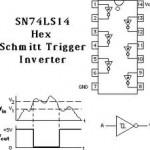 Pemicu Schmitt (Schmitt Trigger) SN74LS14