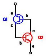 visualisasi thyristor,struktur layer thyristor,lapisan PN thyristor,layer thyristor,visualisasi thyristor transistor,konstruksi thyristor dengan transistor