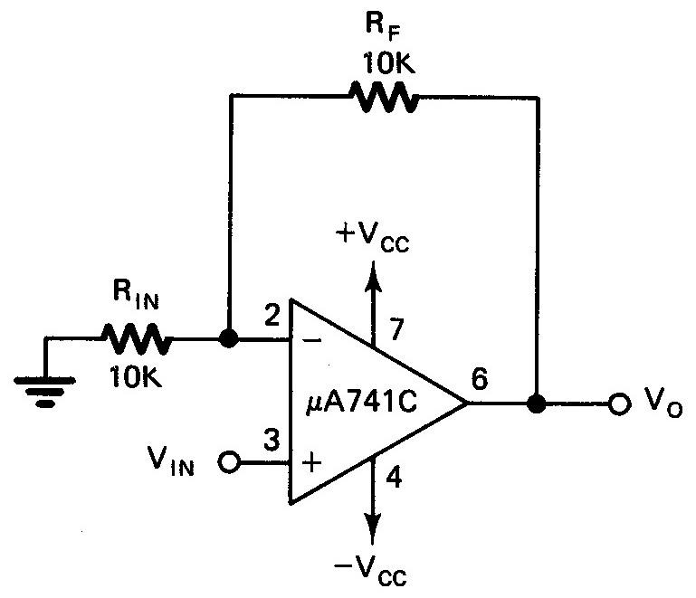 Penguat Tak-Membalik (Non-Inverting Amplifier)