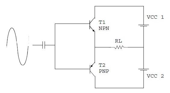 Power Amplifier Komplementer