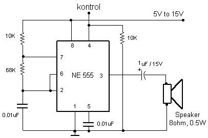 Alarm IC 555