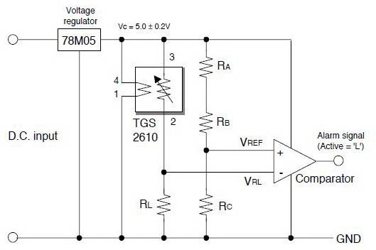 Aplikasi Sensor Gas LPG Figaro TGS2610