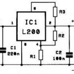 Regulator Tegangan Dan Arus L200
