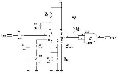 Converter Tegangan Ke Frekuensi Dengan RC4151