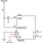 Monostable Multivibrator TTL